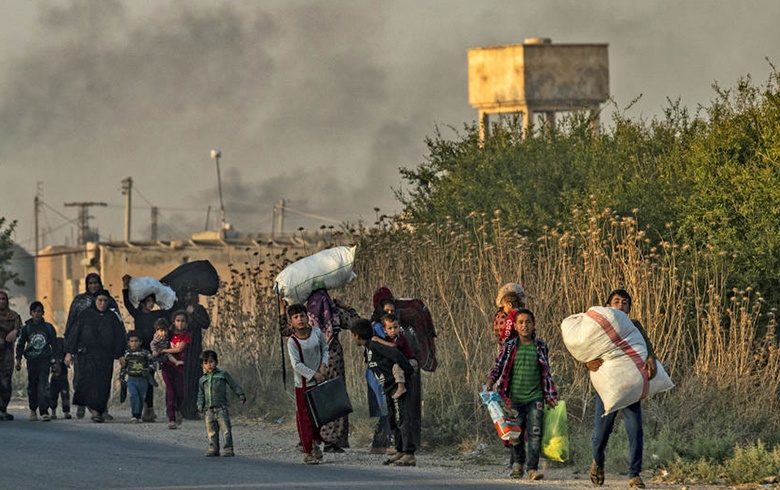 أبناء السويداء ينددون بالغزو التركي ويدعون أبناء سوريا للتكاتف معاً للتصدي لهذا العدوان