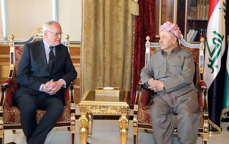 الرئيس بارزاني: نرفض اي تغيير ديمغرافي في شمال شرق سوريا