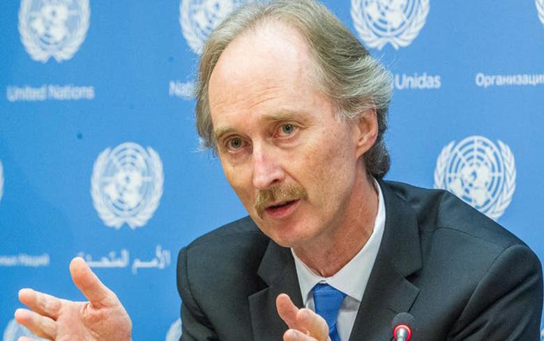بيدرسن يرى «عناصر إيجابية» للشروع في الحل السياسي بسوريا