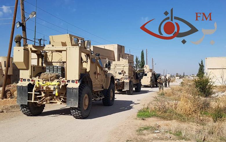الدوريات المشتركة بين قوات التحالف وقسد على الحدود في كوباني وريفها