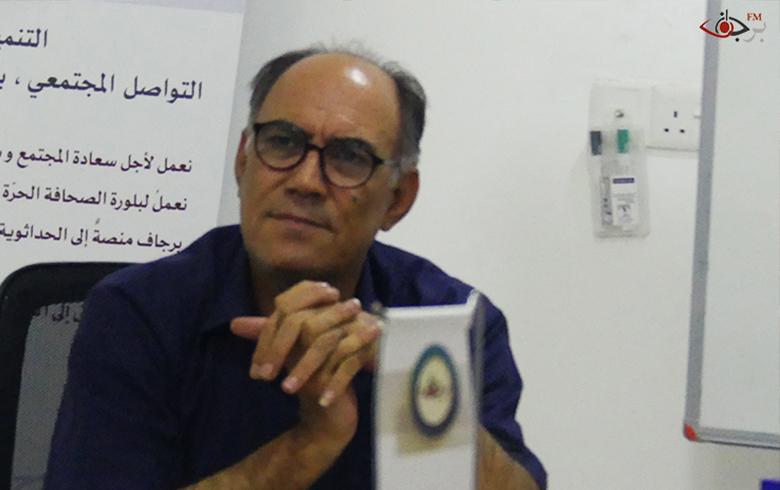 فاروق حجّي مصطفى: نظام الأسد فشل في مؤتمر اللاجئين بدمشق وأراد أن يجلب النجاح من جنيف