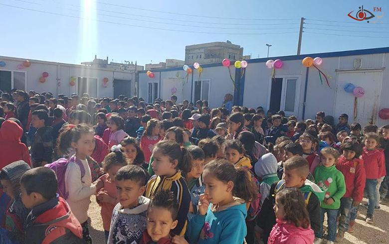 افتتاح مدرسة ابتدائية باسم الشهيدة