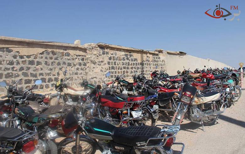 أسايش كوباني تمنع قيادة الدراجات النارية خلال أيام العيد