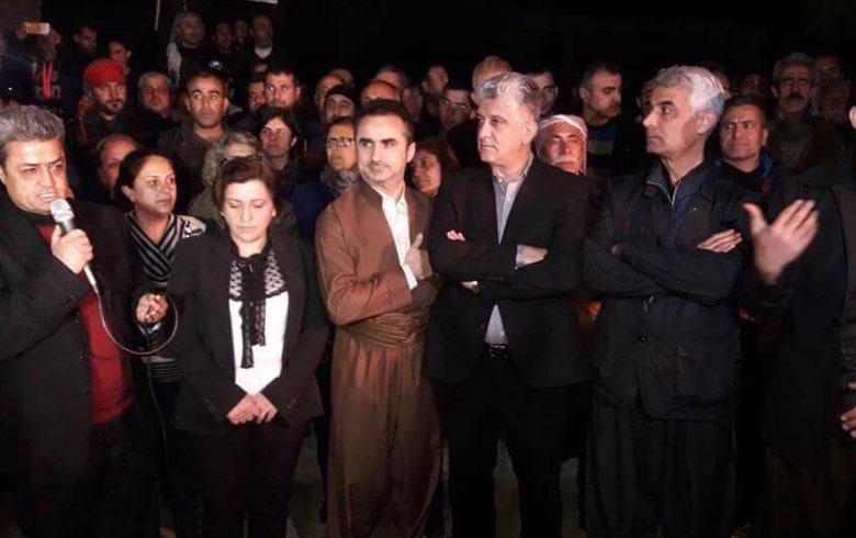 وفد برلمان كردستان بعفرين: رصّوا صفوفكم وادعموا عفرين