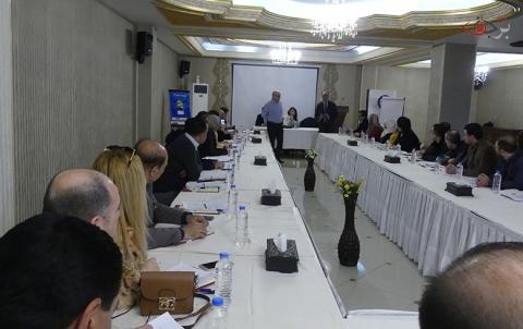 منظمة برجاف تعقد جلسة حوارية موسعة في أربيل بمشاركة عضوين من اللجنة الدستورية
