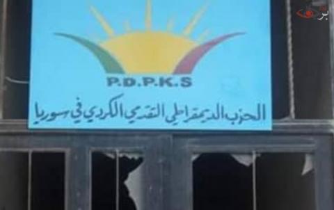 إعادة افتتاح المكتب الديمقراطي التقدمي الكُردي في كوباني مجدداً