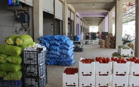 حركة خجولة لسوق الخضار قبيل حلول شهر رمضان