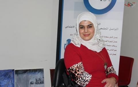 هيفين محمود محمد خريجة كيمياء حيوية دبلوم تأهيل تربوي موظفة في المجال الإنساني مهتمة بالقضايا وشؤن المرأة