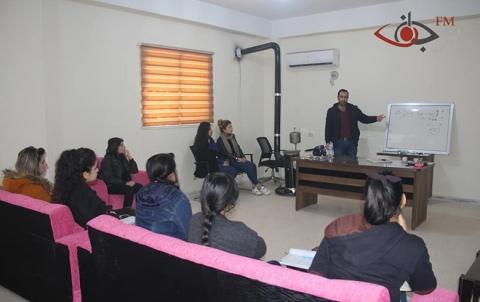 دورة تدريبية حول الإعلام في وقف المرأة الحرة