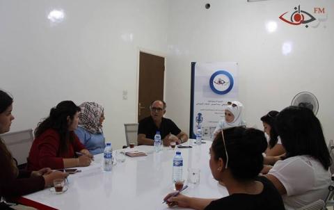 لقاء الشاي مع بعض النسوة القياديات في كوباني