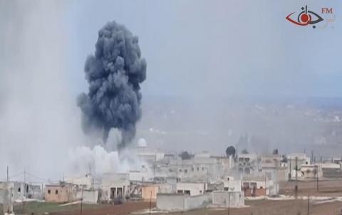 سوسة ريف دير الزور: استهداف جوي جديد، وهناك ضحايا مدنيين