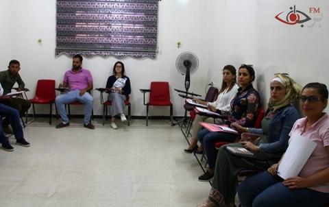 مؤسسة برجاف الإعلامية تنظم ورشة تدريبية لأساسيات العمل الإعلامي