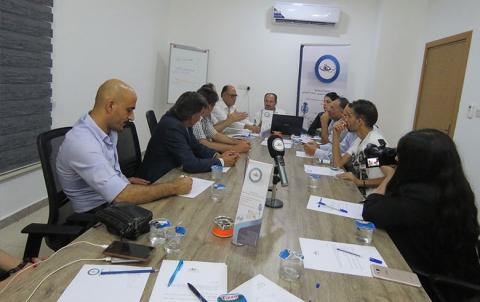 بمشاركة العديد من المنظمات برجاف تعقد اجتماعاً تشاورياً في اربيل