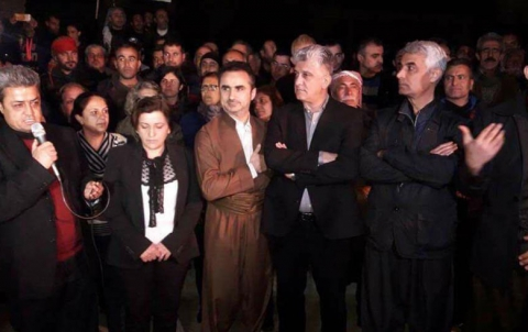 Kurdistan Parliament Delegation in Afrin
