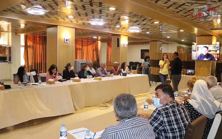 الجلسة الحوارية في قامشلو: التنوع القومي هويّة سوريا وانتمائها..