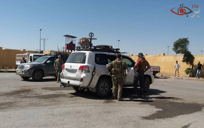MacGorek, and a delegation from the coalition meets with the Civil Council for tenderness in Raqqa